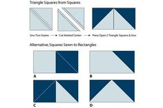 An Evening Star Quilt Block Pattern for Beginning and Expert Quilters: Sew Half Square Triangle Units for Star Quilt Blocks