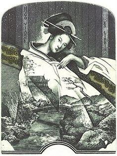 Ex libris de Hristo Naidenov: Geisha. Ex Libris, Book Cover Art, Book Art, Book Covers, Geisha, Library Posters, Printed Matter, Japan Art, Surreal Art
