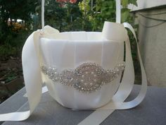 New+Year+SALE++Wedding+Flower+Basket+Flower+by+LucyBridalBoutique,+$21.95
