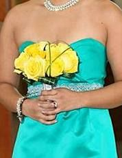 maid of honor bouquet; Carlos & Melanie's wedding, Nov. 9, 2013; design by Davis Floral Creations