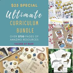 Worksheets, Recipes, Anatomy, Math and so much more! Limited Time only!