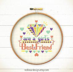 Funny Quote Cross stitch pattern PDF  Diamonds by redbeardesign