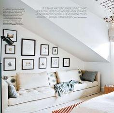 great photo display-mimics stair line