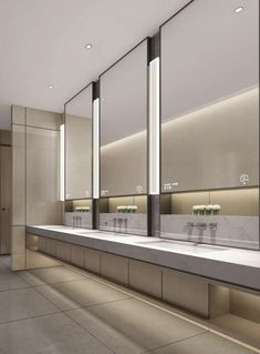 Wc Design, Toilet Design, Interior Design, Commercial Toilet, Commercial Design, Office Bathroom, Bathroom Interior, Restaurant Bathroom, Washroom Design