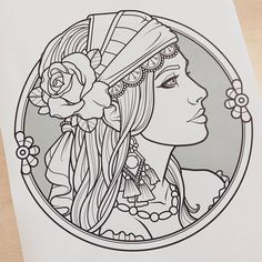 Ideas for flowers art drawing sketches roses Art Drawings Sketches, Tattoo Sketches, Tattoo Drawings, Body Art Tattoos, Sleeve Tattoos, Arabic Tattoos, Mini Tattoos, Gypsy Drawing, Gypsy Girl Tattoos