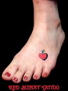 Red Apple Tattoo