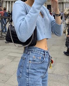 Cute aesthetic trendy outfit with mom jeans and tank tops brandy Melville pretty skirt Source by veroniquewww melville outfits jeans Aesthetic Fashion, Aesthetic Clothes, Look Fashion, Aesthetic Outfit, Blue Aesthetic, Fashion Women, Korean Fashion, Aesthetic Bags, Fitness Aesthetic