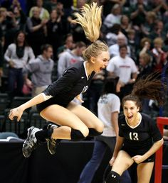 VolleyBall. This is why I coach. To see this kind of passion makes it all worth while. :) love this game.