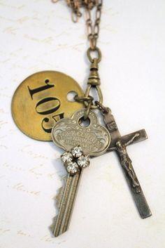 Key and cross