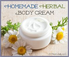 How to Make an Herbal Body Cream + tips on how to make cream for different purposes too
