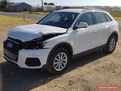 2016 AUDI Q3 TFSI WAGON 1.4L TURBO 6SPD AUTO 6KM LIGHT DAMAGED REPAIR AS NEW #audi #q3 #forsale #australia