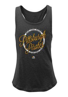 Pitt Pirates Girls  Circle Tank Top