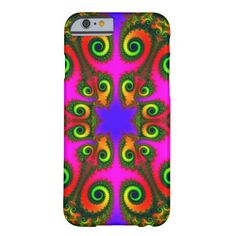 Phoenix Flower Fractal Case-Mate Barely There iPhone 6 Case