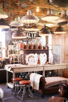 Round Top Antiques Week. Blue Hills  http://annadeanstudio.com/a-guide-to-round-top-warrenton-antique-shows/