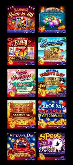 Game Service art - Slots UI - Game Service art on Behance - Free Casino Slot Games, Graphics Game, Game Development Company, Two Player Games, Gaming Banner, Game Props, Ad Design, Graphic Design, Game Sales