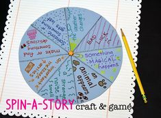 Spin-a-Story Craft a