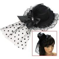 100% Brand New Under the hat there is two clips to set it into your hair Easy to match with fancy dr