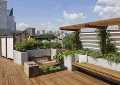 New York City Rooftop Garden Offers Views and Privacy | Urban Gardens | Unlimited Thinking For Limited Spaces | Urban Gardens