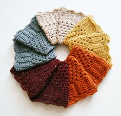 FREE SHIPPING  Crochet Boot Cuff  Speckled Tan Gold by Tzigns, $16.00