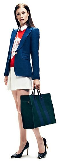 Workwear! Love the blazer (but only from the front... The back is horrid trust me) but the overall look is great!