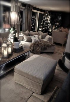 Beautiful Christmas coziness.