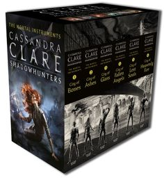 The Mortal Instruments Collection — six internationally bestselling books about the Shadowhunters in one gift pack with 2015 edition new book covers. Discover the...