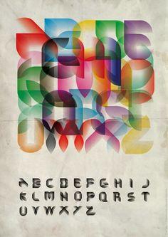 alfabeto tipografia