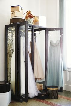The Mirrored Display Armoire is a larger-than-life jewelbox for all your most cherished forget-me-nots.