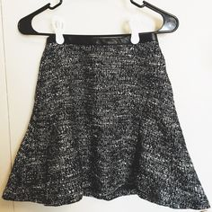 H&M Tweed Skirt Size 2. Back zip as in the picture. Like brand new. Only wore once. H&M Skirts A-Line or Full