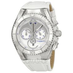Technomarine Cruise Dream Chronograph Stingray Mother of Pearl Dial Stainless Steel Unisex Watch 113002