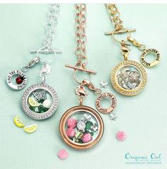 New spring launch March 3rd 2016!  Create your Origami Owl living locket and fall in love.