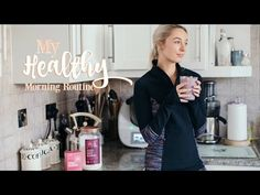 MY HEALTHY MORNING ROUTINE   |    Workout With Me!   |   Fashion Mumblr AD - YouTube