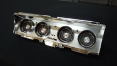 Classic Instruments, Custom Gauges, 1968 impala, Lowrider Lowrider, Impala, Chrome Plating, Custom Cars, Gauges, Convertible, Instruments, Classic, Derby