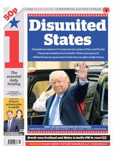 Disunited States ~ 11-2016