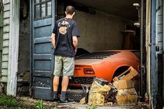 """6,904 Likes, 39 Comments - Car&Vintage® (@car_vintage) on Instagram: """"• Welcome in wonderland. Lamborghini Miura *Finding by Wayne Carini from """"Chasing Classic Cars"""" •…"""""""