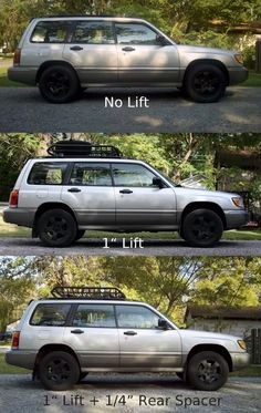 Lifting a Subaru w/ 1 inch lift & inch spacer Damn now I kind of want a Forester more than a wrx Subaru Forester Lifted, Lifted Subaru, Subaru Cars, Subaru Impreza, Wrx, Subaru Outback Lifted, Subaru 4x4, Subaru Wagon, Lifted Trucks