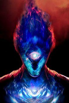 Fantasy Kunst, Dark Fantasy Art, Fantasy Artwork, Space Fantasy, Fantasy Character Design, Character Inspiration, Character Art, Alien Character, Arte Alien