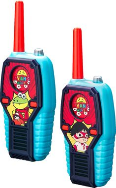 Shop eKids Ryan's World Radios (Pair) Red/Blue/Black at Best Buy. Find low everyday prices and buy online for delivery or in-store pick-up. Birthday Party Games For Kids, Boy Birthday, Baby Girl Toys, Toys For Girls, Blue Black Color, Red And Blue, Spy Gear For Kids, Minion Party Decorations, Frozen Cupcake Toppers