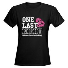 Bachelorette Party Womens Dark T-Shirt