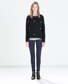 Image 1 of SUPER STRETCH SKINNY TROUSERS from Zara