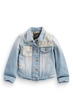 Denim Jacket | Kids | George at ASDA | Stylish Lil Gal | Pinterest ...