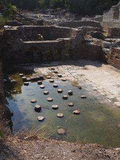 Butrint- Roman Bath House by Peter Ashton aka peamasher, via Flickr