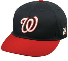 """Washington Nationals """"NAVY/RED W"""" YOUTH Cap (NEW CF2 VISOR Shaped for Curve or Flat) MLB Adjustable Velro Replica Baseball Hat by Team MLB - Authentic Sports Shop. $9.48. Embroidered """"W"""" Authentic Washington Nationals MLB Logo. NEW CF2 Visor, Shaped for Flat or Curved Look. Youth Size (6 3/8 - 7""""), Adjustable Velcro Fit. Washington Nationals NAVY/RED """"W"""" Officially Licensed MLB Cap. Major League Baseball Officially Licensed Hat. Washington Nationals NAVY/RED """"W"""" Officially L..."""