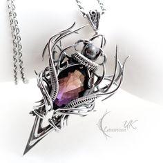 CRAAGHNAR - silver and ametrine. by LUNARIEEN on deviantART