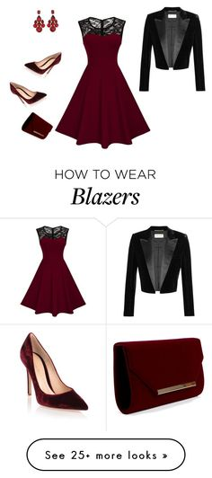 """elegante"" by princesaurbana on Polyvore featuring Gianvito Rossi and Yves Saint Laurent"