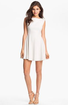 French Connection 'Ruth' Fit & Flare Minidress available at Nordstrom