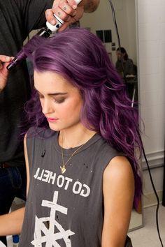 Purple hait