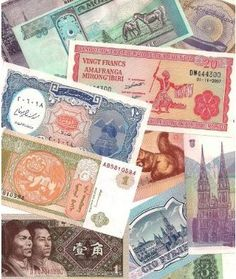 25 Different World Foreign Banknotes,Uncirculated with List - All banknotes are in Crisp Uncirculated condition by World Currency. $9.99. Great collection of 25 different world banknotes. There are no duplicates and all are in crisp uncirculated condition. Notes come a clear protective sleeve. Countries may include: Egypt, Nicaragua, Croatia, China, Burundi, Mongolia, Belarus, Vietnam, Indonesia, and more. We put these sets together and selection can vary but we strive to...