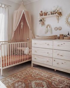 35 Gorgeous Baby Nursery Decor Ideas - Are you going to be bringing a little baby home from the hospital pretty soon? Hopefully you already have everything in order for the baby nursery. Baby Bedroom, Baby Room Decor, Nursery Room, Kids Bedroom, Nursery Decor, Bedroom Decor, Themed Nursery, Nursery Ideas, Ikea Baby Room