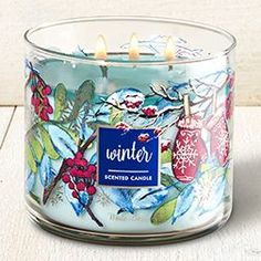 Winter 3-Wick Candle - Home Fragrance 1037181 - Bath & Body Works